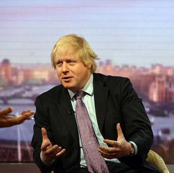 Boris Johnson on the BBC's Andrew Marr Show (Jeff Overs/BBC)