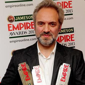 Sam Mendes won three gongs at the Jameson Empire Awards 2013 (PA)
