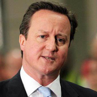David Cameron said while immigration brought benefits to the country, it had to be properly controlled