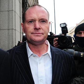 Paul Gascoigne said 'I didn't ask to be an alcoholic, but I must admit I worked on it'