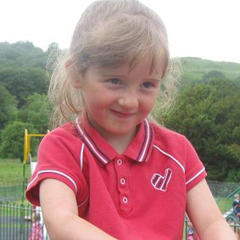 April Jones, five, disappeared from the housing estate where she lived in Machynlleth, mid Wales, on October 1
