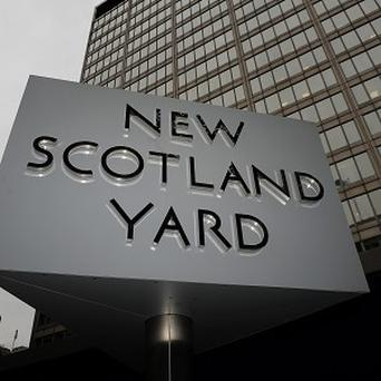 Scotland Yard said six people were held at Gatwick Airport today