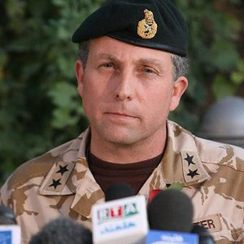 Nick Carter said it would be 'unforgivable' if cutting British troop numbers in Afghanistan affected the progress made in the last three years