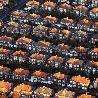 Northern Ireland's battered housing market is showing further signs of recovery, figures have indicated