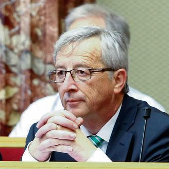 Jean-Claude Juncker who has quit in a row over a failure to rein in the secret service
