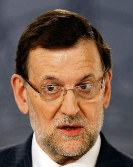 Spanish PM Mariano Rajoy: text messages