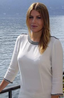 Barbara Berlusconi, the daughter of Italy's former Prime Minister Silvio Berlusconi,