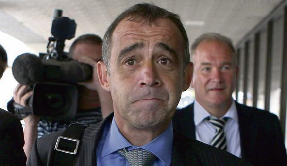 Alcohol problem: 'Coronation Street' actor Michael Le Vell leaves Manchester Crown Court on day four of his trial