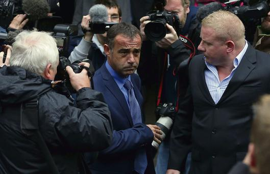 'Coronation Street' actor Michael Le Vell outside Manchester Crown Court