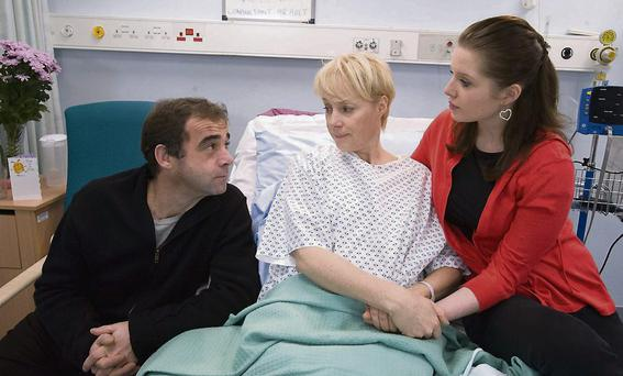 Sally plays Sally Webster in 'Coronation Street'