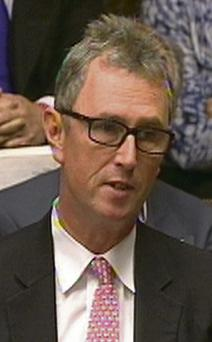 Nigel Evans: has denied any wrongdoing over a series of alleged sex offences