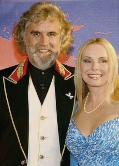 Legendary Scottish comedian Billy Connolly pictured with his wife, Pamela Stephenson