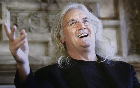 Legendary Scottish comedian Billy Connolly