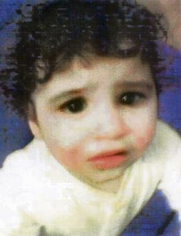 Hamzah Khan, whose mummified body was found in his cot