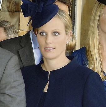 Zara Phillips is a new mum