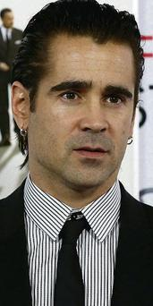 Colin Farrell who played inept assassin Ray in the film 'In Bruges'
