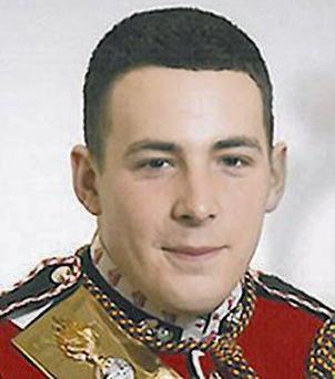 Fusilier Lee Rigby was attacked and stabbed to death