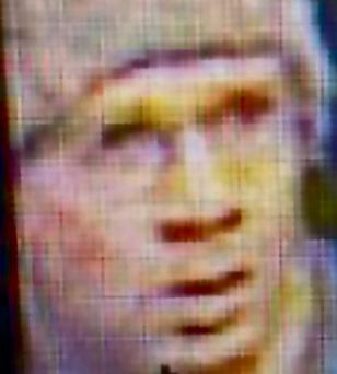 A CCTV image of the alleged gunman believed to have run riot through Paris