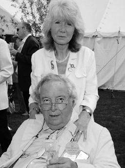 Popular couple Leo and Jilly Cooper