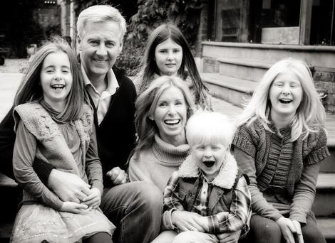 Undated file handout photo of Nick Milligan, with his wife Victoria and children (from left to right) Emily, Olivia, Kit and Amber. Nick Milligan, 51, was killed in a speedboat accident which also left his eight-year-old daughter Emily dead in Padstow, Cornwall