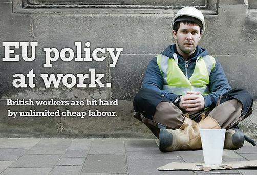 The UKIP poster