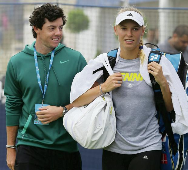 Rory McIlroy split with his fiancee Caroline Wozniacki after the wedding invitations were sent out. Gareth Fuller/PA wire