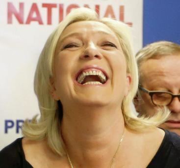 Marine Le Pen, France's National Front political party