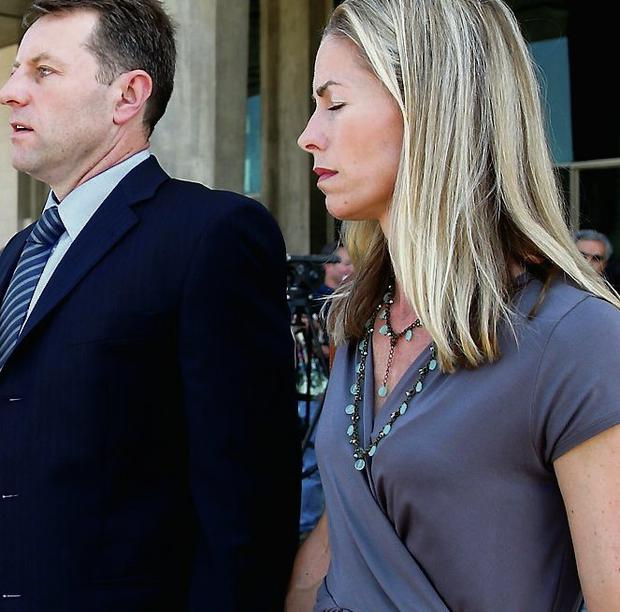 Gerry and Kate, the parents of Madeleine McCann, after attending the libel case of former Portuguese police chief Goncalo Amaral at Lisbon's Palace of Justice. Tiago Petinga/PA WIRE
