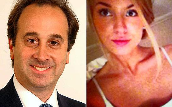 Brooks Newmark and the fictional Sophie Wittams UPPA/ Twitter