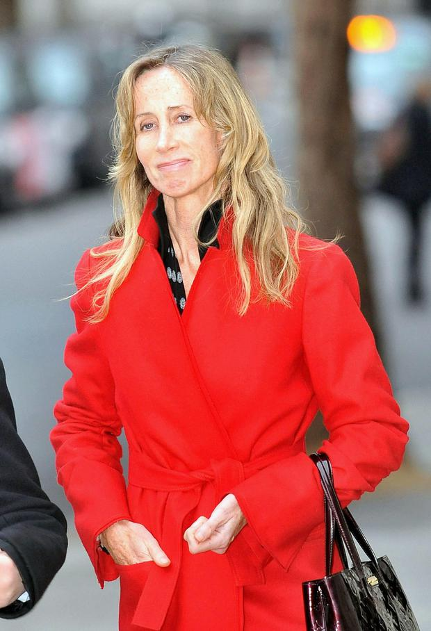 Michelle Young - the estranged wife of Scot Young - who both endured a multimillion-pound cash fight at the High Court (Ian Nicholson/PA Wire)