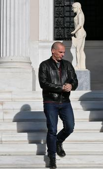 Greek Finance Minister Yanis Varoufakis. Photo: Reuters