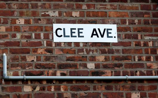 Clee Avenue in Manchester, where the 16-year-old girl was arrested