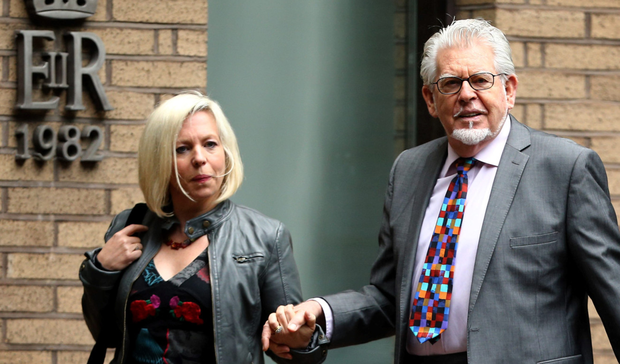 Rolf Harris and daughter Bindi Harris