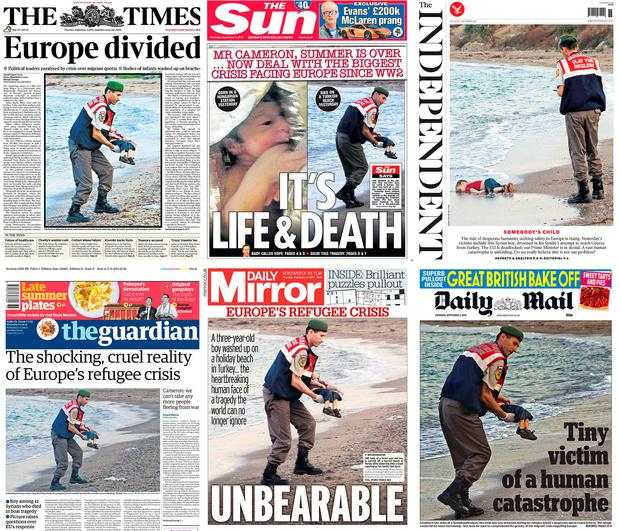 How the world's media reported the deaths
