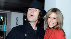 Liam Gallagher and his ex-wife Nicole Appleton, pictured in 2012, before their divorce