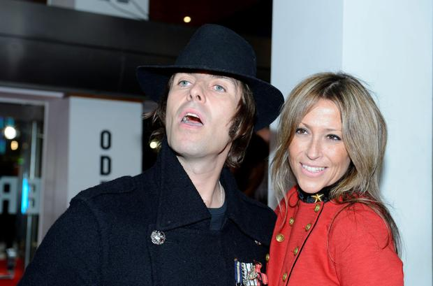 Liam Gallagher And His Ex Wife Nicole Appleton Pictured In 2012 Before Their