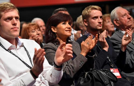 Delegates responded enthusiastically to new leader Jeremy Corbyn's speech at the Labour conference in Brighton