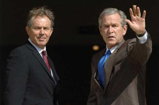 United on Iraq: Tony Blair and George Bush