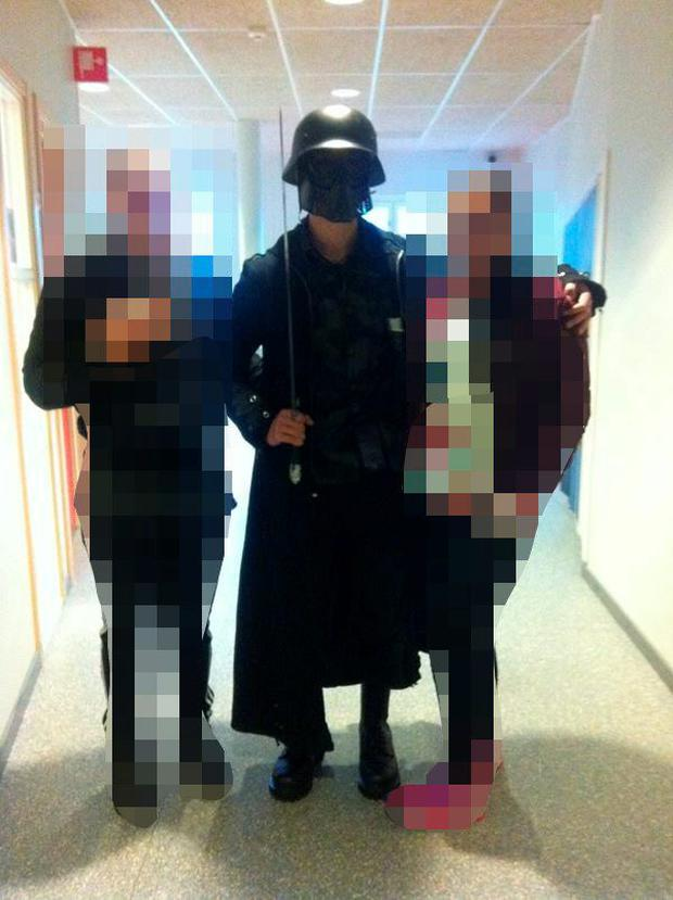 Students unwittingly posed for pictures with the killer during his rampage