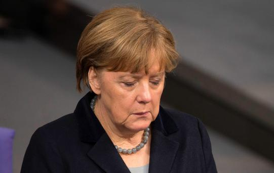 German Chancellor Angela Merkel. Photo: AFP/Getty Images