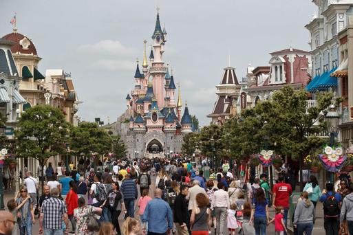 Disneyland Paris, the most visited theme park in Europe