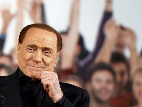 Silvio Berlusconi. Photo: Reuters