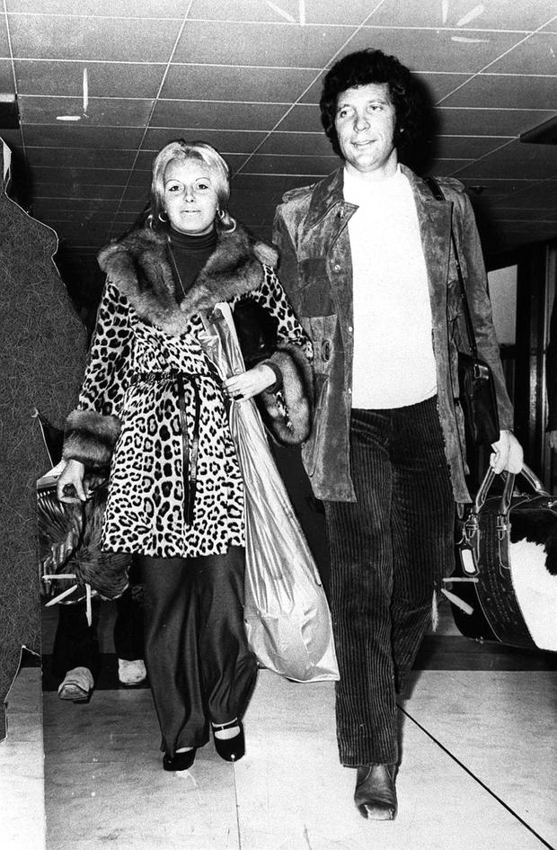 Tom Jones with his wife Linda. Sir Tom Jones's wife of 59 years, Lady Melinda Rose Woodward, has died from cancer,
