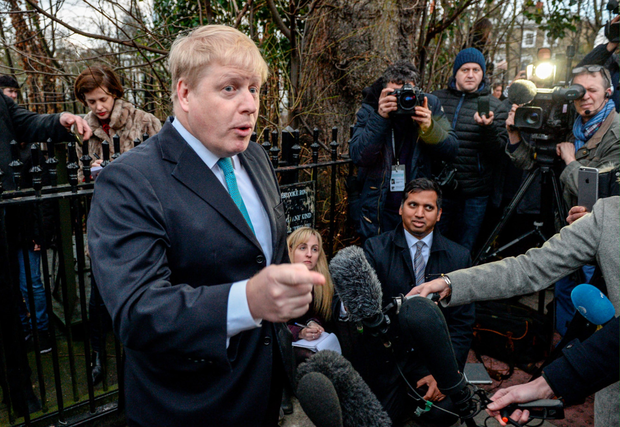 London Mayor Boris Johnson. Photo: Getty