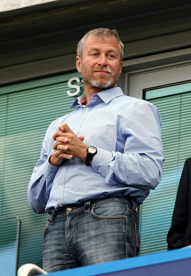 Chelsea Football Club owner Roman Abramovich. Photo: Getty