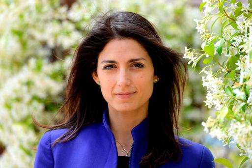 Virginia Raggi, the populist Five Star Movement's candidate for the mayoral election in Rome, Italy. Photo: Getty