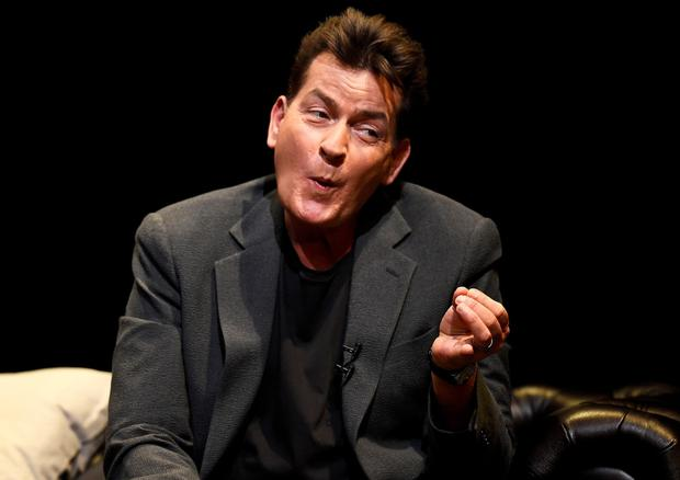 Charlie Sheen: living with HIV. REUTERS