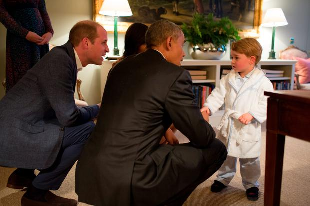 29. Nothing will ever top anything more than when he met US President Barack Obama and First Lady Michelle Obama in a monogrammed bathrobe and PJs.
