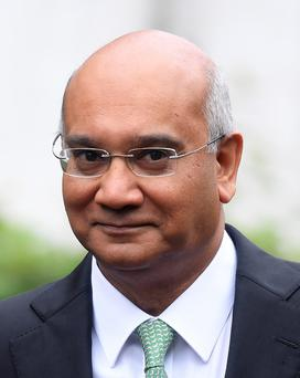 Veteran Labour MP Keith Vaz. Photo: Reuters