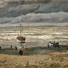 The two Van Gogh paintings were recovered Photo: Van Gogh museum